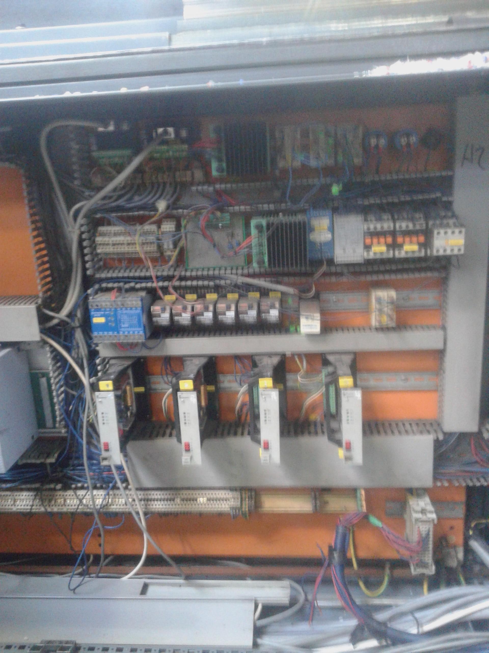 Pôvodné zapojenie a riadiace karty proporcionálnych ventilov