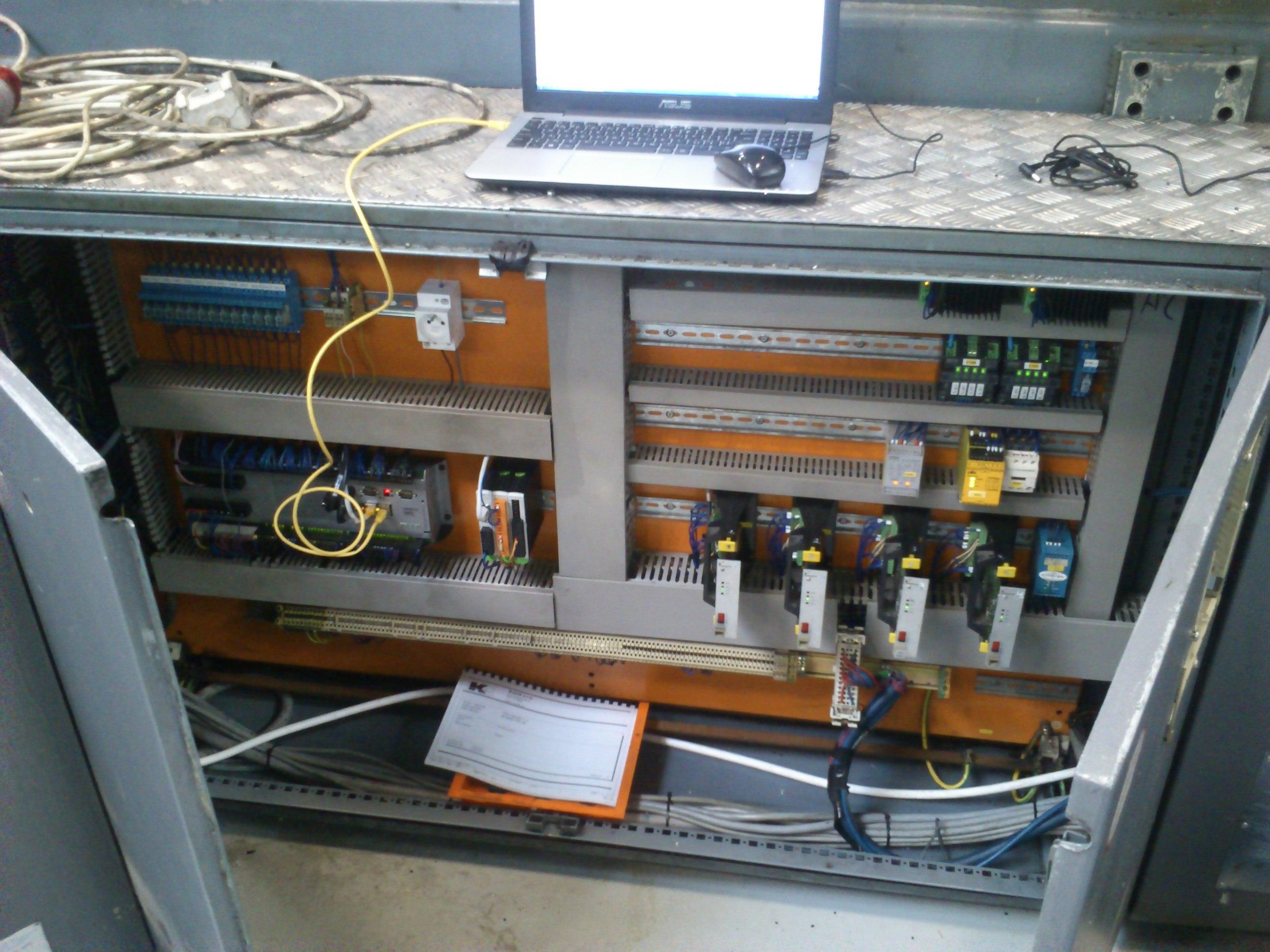Nový riadiaci systém